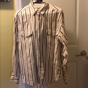 Men's snap-button shirt